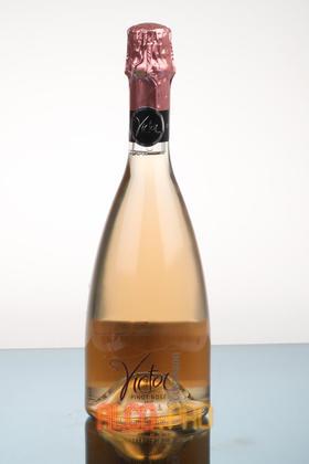 Contarini Victor Pinot Nero Rosato Brut итальянское шампанское Контарини Виктор Пино Неро Розато Брют