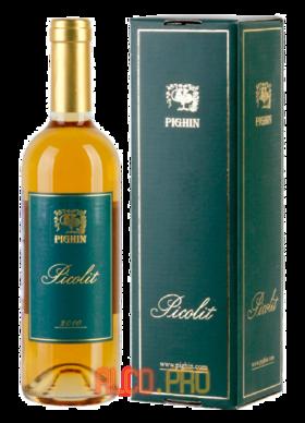 Фернандо Пигин & Фигли Пиколит ДОК Колио Фриули-Венеция 2010 итальянское вино Fernando Pighin & Figli Picolit DOC Collio Friuli Venezia 2010
