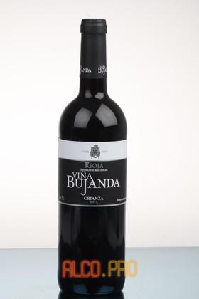 Vina Bujanda Crianza 2013 Испанское Вино Винья Буханда Крианса 2013