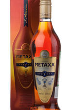 Metaxa 7 stars 0.7l бренди Метакса 7 звезд 0.7l