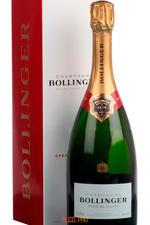 Bollinger Special Cuvee Brut gift box шампанское Болингер Спесиаль Кюве брют п/у