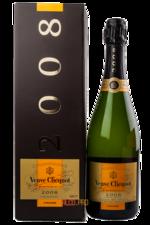 Veuve Clicquot Vintage 2004 with gift box шампанское Вдова Клико Винтаж 2004 в п/у