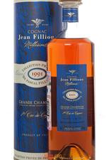 Jean Fillioux Millesime 1991 0,7l Коньяк Жан Фийу Миллезим 1991г. 0,7л в тубе