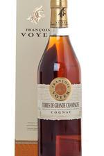 Francois Voyer Terres de Grande Champagne in gift box коньяк Франсуа Войе Тер де Гранд Шампань п/у
