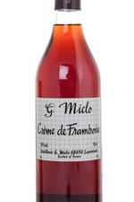Miclo Creme de Framboise ликер малиновый Крем де Фрамбоз