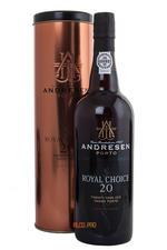 Andresen Royal Choice Tawny 20 yrs портвейн Адресен Рояль Чойс Тони 20 лет