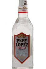 Pepe Lopez Silver текила Пепе Лопез Сильвер