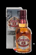 Chivas Regal 12 years 375 ml виски Чивас Ригал 12 лет 0.375 л
