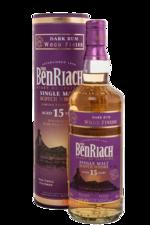 Benriach Dark Rum 15 years виски Бенриах Дарк Ром 15 лет