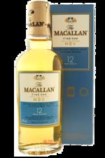 Macallan fine oak 12 years виски Макаллан файн оук 12 лет 0.05 л