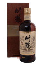 Nikka Pure Malt Taketsuru 21 years виски Никка Пью Молт Такецуру 21 год