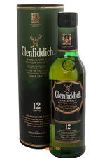 Glenfiddich 12 years old 0.375 l виски Гленфиддик 12 лет 0.375 л