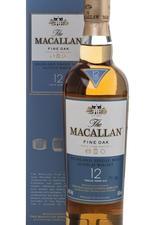 Macallan 12 years fine oak виски Макаллан 12 лет файн оук в п/у