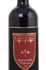 Caparzo Sangiovese Toscana Итальянское вино Капарцо Санджовезе Тоскана