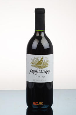 Quail Creek Merlot Вино Квейл Крик Мерло 2014