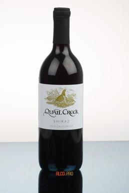 Quail Creek Shiraz Вино Квейл Крик Шираз 2014